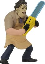 NECA Toys' Toony Terrors series 2 action figure Leatherface (angled right).