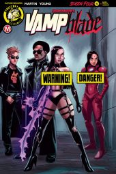 Action Lab - Danger Zone's Vampblade Season 4 Issue #4 Cover B (Risque) by Winston Young