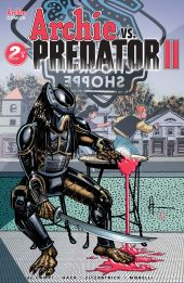 Archie Comics' Archie Vs Predator Issue #2 Cover B by Howard Chaykin
