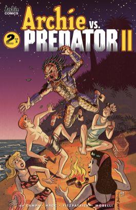 Archie Comics' Archie Vs Predator Issue #2 Cover C by Bill Galvan