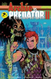 Archie Comics' Archie Vs Predator Issue #2 Cover D by Rebekah Isaacs