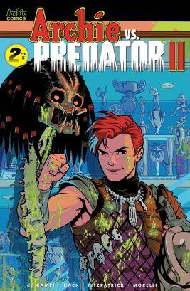 Archie Comics' Archie Vs Predator Issue #2 Cover D by Rebekah Isaacs