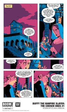 Boom! Studios Buffy the Vampire Slayer: The Chosen Ones Issue #1 Preview Page 3