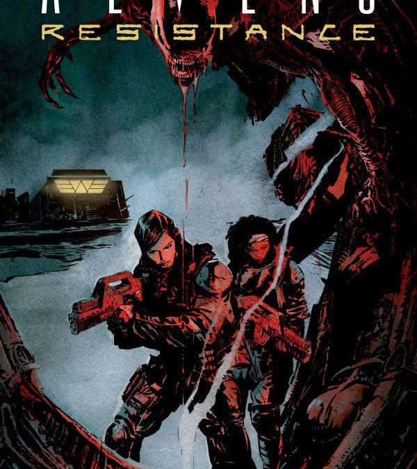 Dark Horse Comics' Aliens: Resistance Trade Paperback Cover by Robert De La Torre