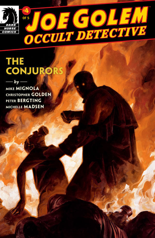 Dark Horse Comics' Joe Golem: Occult Detective - The Conjurors Issue #4 Cover by David Palumbo