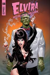 Dynamite Entertainment's Elvira: Mistress of the Dark Issue #8 Cover C by John Royle