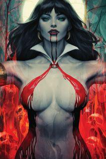 "Dynamite Entertainment's Vampirella Vol. 5 Issue #2 Cover A (Virgin) by Stanley ""Artgerm"" Lau"