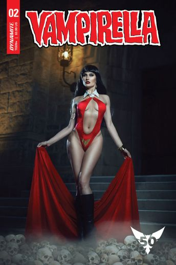 Dynamite Entertainment's Vampirella Vol. 5 Issue #2 Cover E (Cosplay)