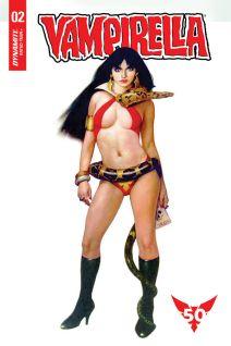 Dynamite Entertainment's Vampirella Vol. 5 Issue #2 Cover F by Manuel Sanjulian