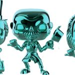 Funko Pop! Disney Haunted Mansion Hitchhiking Ghosts 3-Pack [Chrome]
