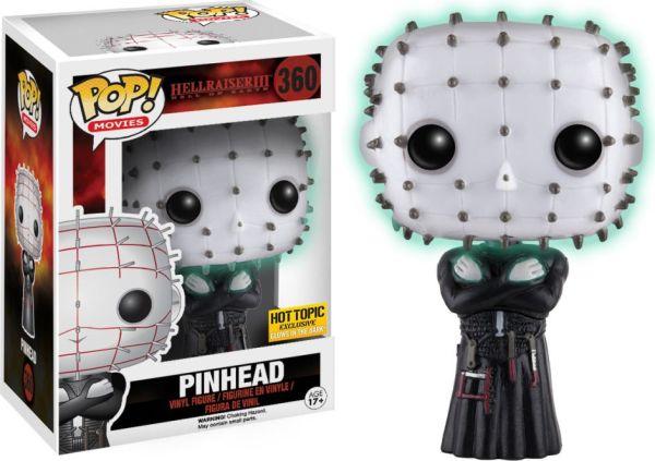 Funko Pop! Movies #360 Hellraiser III: Hell on Earth Pinhead [Glow-in-the-Dark]