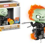 Funko Pop! Rides #33 Marvel Ghost Rider [Glow-in-the-Dark]