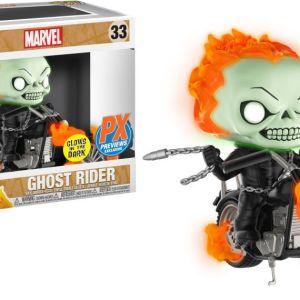 Funko Pop! Rides #33 Marvel Ghost Rider [Glow-in-the-Dark]