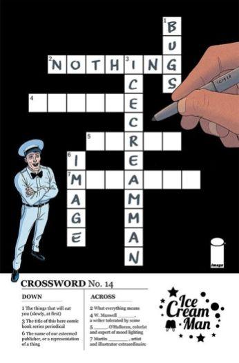 Image Comics' Ice Cream Man Issue #14 Cover A by Martin Morazzo