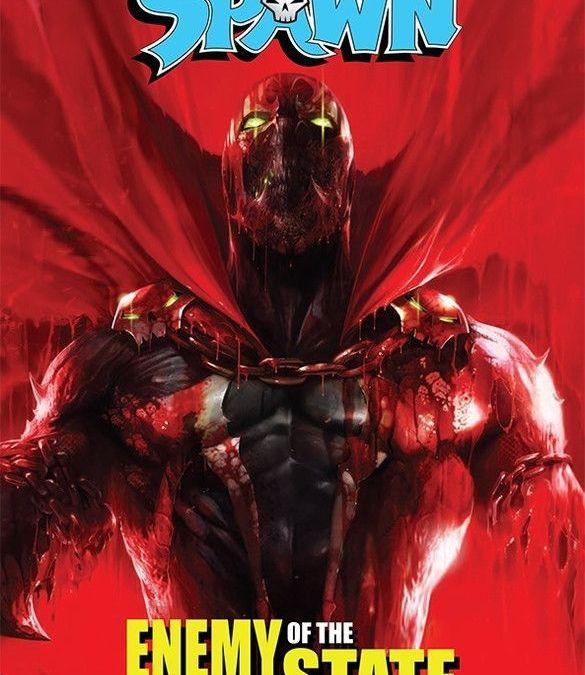 Image Comics' Spawn: Enemy State Trade Paperback Cover by Francesco Mattina