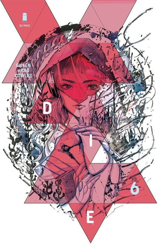 Image Comics' Die Issue #6Cover B by Peach Momoko