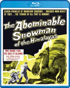 Shout! Factory's Scream Factory The Abominable Snowman (1957) Blu-ray Cover