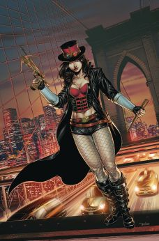 Zenescope Entertainment's Van Helsing Vs Dracula's Daughter Issue #1 Cover A (Virgin) by Martin Coccolo