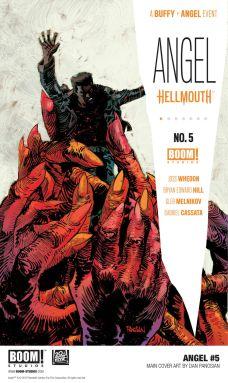 Boom! Studios Angel #5 Main Cover by Dan Panosian