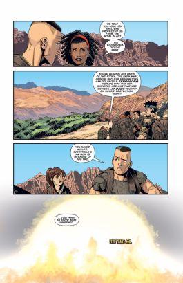 Dark Horse Comics Aliens: Rescue #3 Preview Page 4