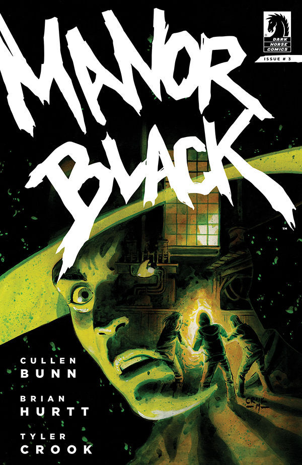 Dark Horse Comics Manor Black Issue #3 Cover by Tyler Crook