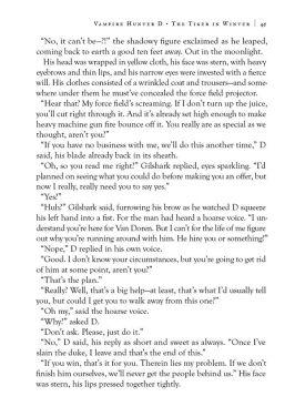 Dark Horse Comics Vampire Hunter D Volume 28 The Tiger in Winter Page 3
