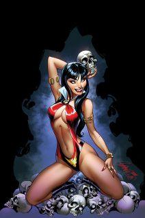 Dynamite Entertainment Vampirella Vol. 5 Issue #3 Cover A (Virgin) by J. Scott Campbell