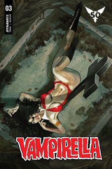 Dynamite Entertainment Vampirella Vol. 5 Issue #3 Cover C by Fay Dalton