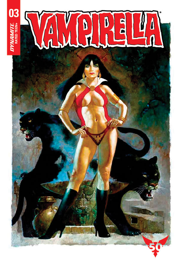 Dynamite Entertainment Vampirella Vol. 5 Issue #3 Cover F by Sanjulian
