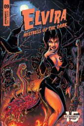 Dynamite Entertainment Elvira: Mistress of the Dark Issue #9 Cover A by Kevin Eastman