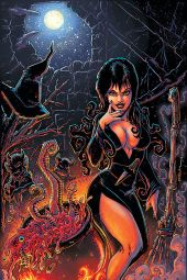 Dynamite Entertainment Elvira: Mistress of the Dark Issue #9 Cover A (Virgin) by Kevin Eastman