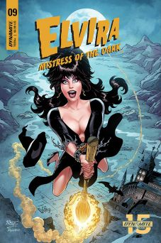 Dynamite Entertainment Elvira: Mistress of the Dark Issue #9 Cover C by John Royle