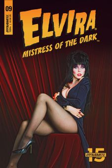 Dynamite Entertainment Elvira: Mistress of the Dark Issue #9 Cover D Photo