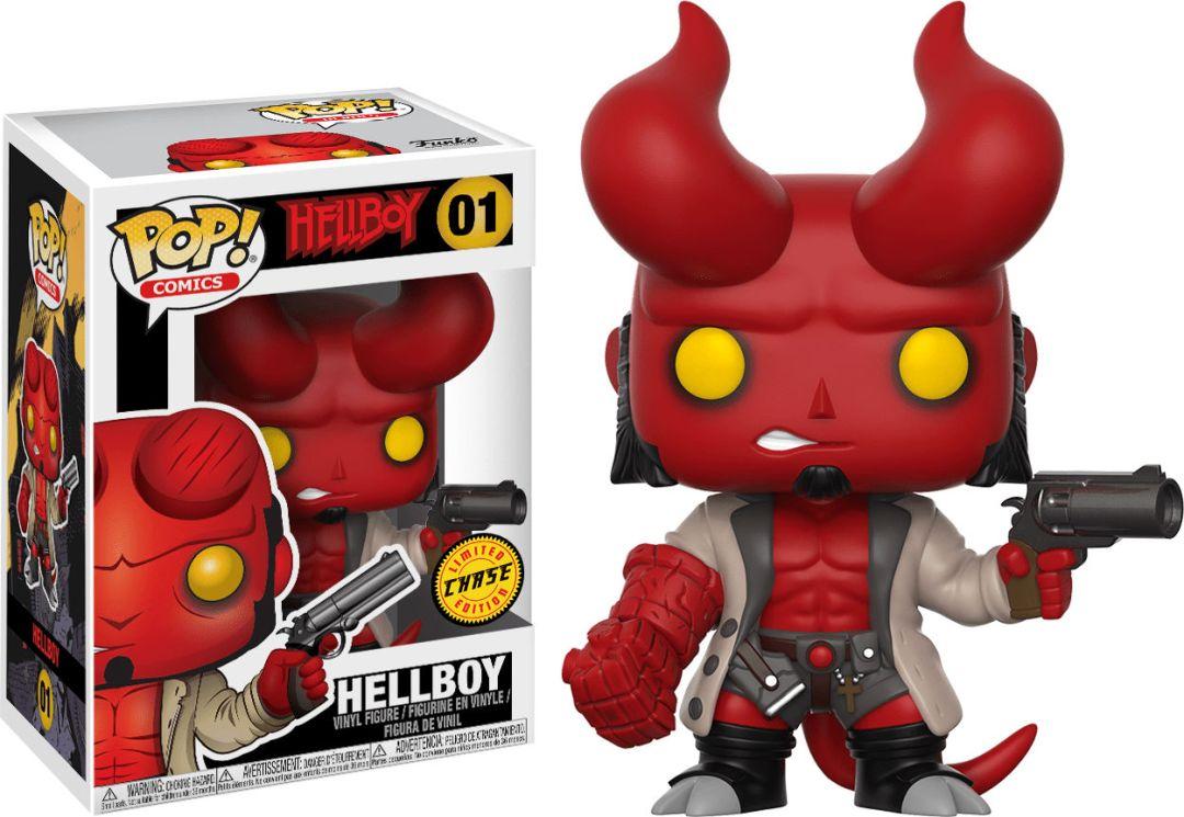 Funko Pop! Comics #01 Hellboy Hellboy [with Horns]