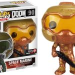 Funko Pop! Games #90 Doom Space Marine [Gold]