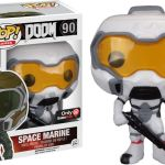 Funko Pop! Games #90 Doom Space Marine [White]