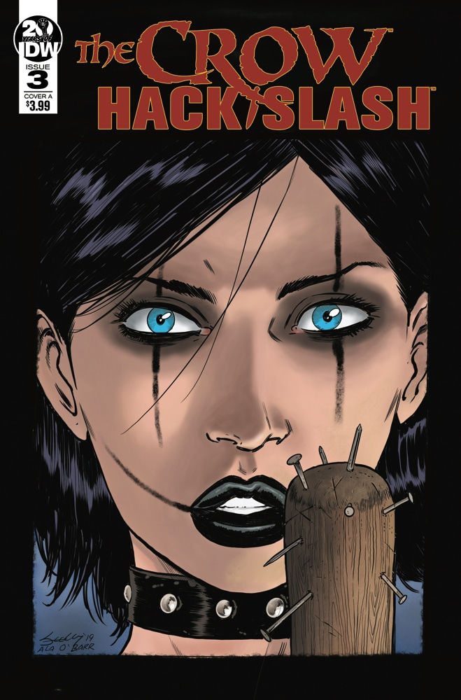 IDW Publishing The Crow Hack/Slash #3 Cover by Tim Seeley