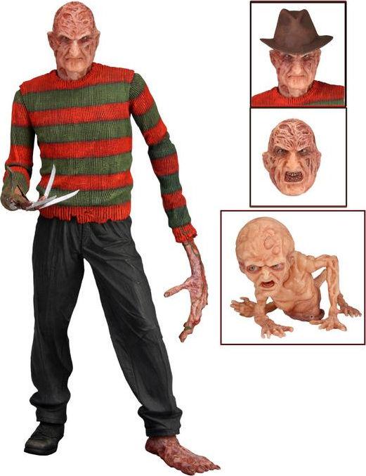 "Action Horror Figures Toy NECA NIGHTMARE ON ELM STREET 7/"" FREDDY KRUEGER"