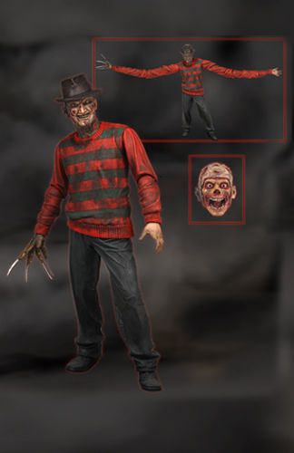 NECA Toys A Nightmare on Elm Street Freddy Krueger Series 1 7-inch Action Figure