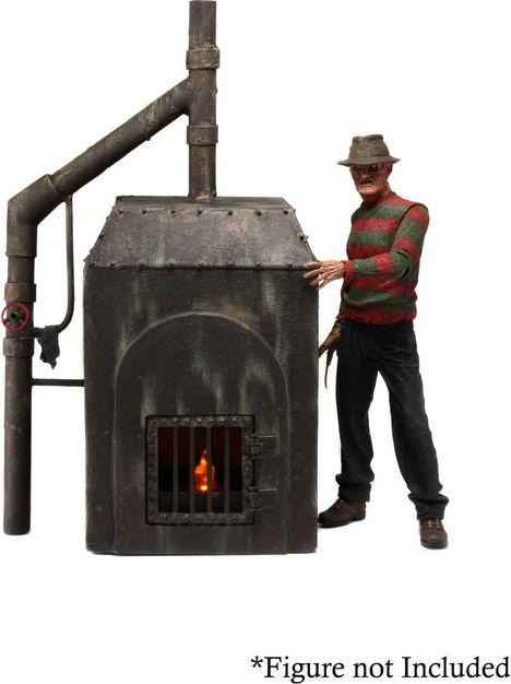 NECA Toys Nightmare on Elm Street Freddy's Furnace Diorama Element