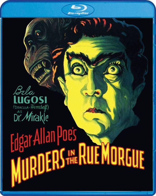 Scream Factory Murders in the Rue Morgue Blu-ray Cover