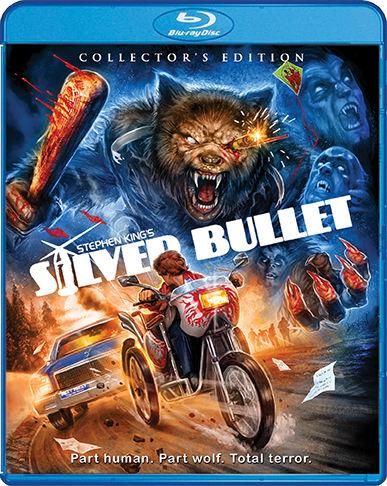 Scream Factory Silver Bullet Collector's Edition Bluray Cover