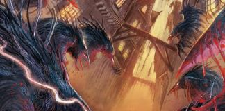 Titan Comics Bloodborne Issue #15 Cover A by Abigail Jill Harding