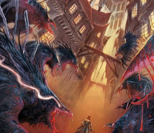 Titan Comics Bloodborne Issue #15 Cover A by Abigail Jill Harding