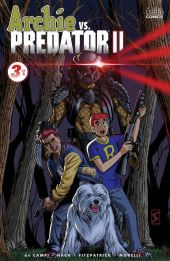 Archie Comics Archie vs Predator II #3 Cover D by Jamal Ingle