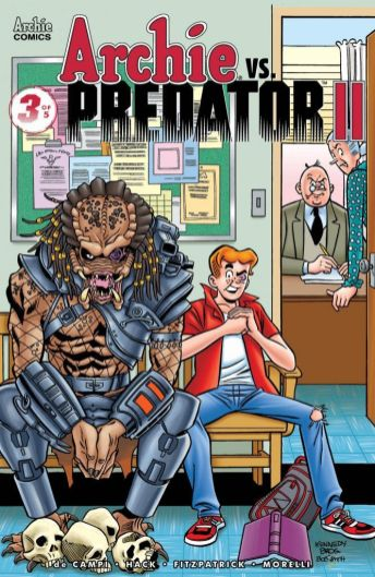 Archie Comics Archie vs Predator II #3 Cover F by Pat & Tim Kennedy, Bob Smith, and Matt Herms