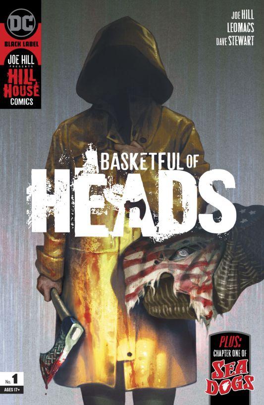 DC Comics Black Label Basketful of Heads #1 Cover A by Reiko Murakami