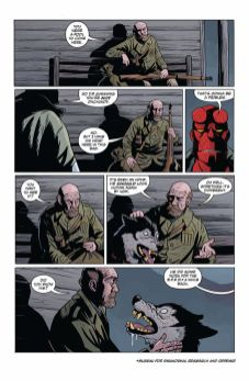 Dark Horse Comics Hellboy and the B.P.R.D.: Long Night at Goloski Station One-Shot Preview Page 2