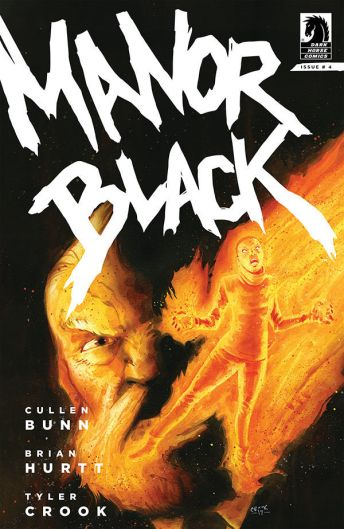 Dark Horse Comics Manor Black #4 Cover A by Tyler Crook