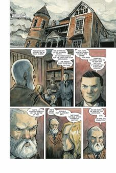 Dark Horse Comics Manor Black #4 Preview Page 1